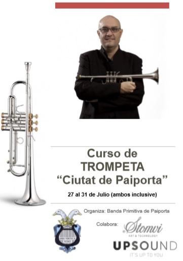 """Curso de Trompeta """"Ciutat de Paiporta"""" 2019"""