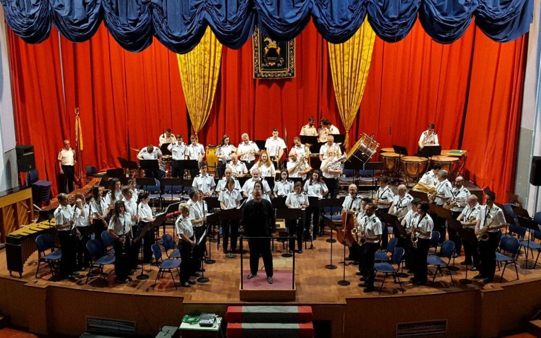 Festival de Bandas con la Sociedad Musical de Teruel