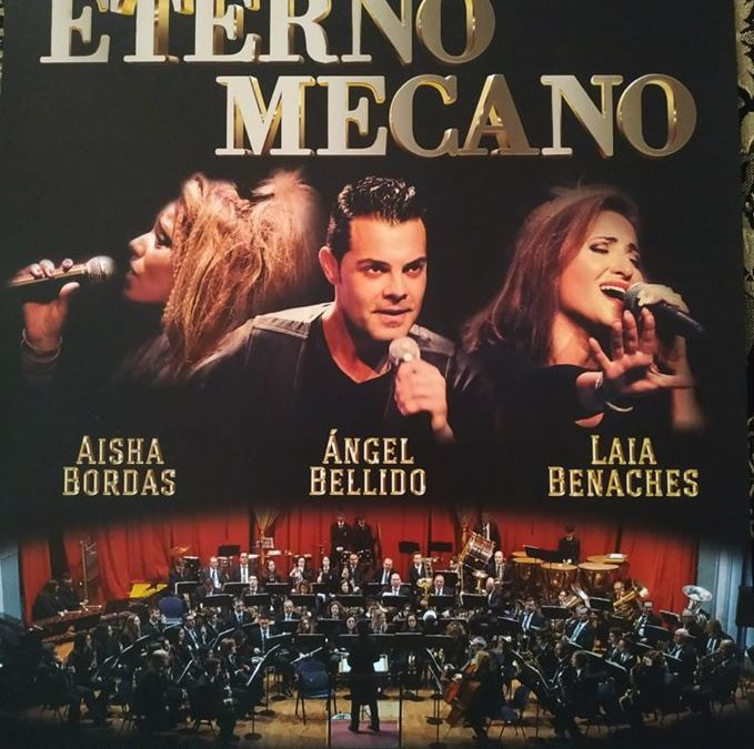 Concierto ETERNO MECANO próximo 15 de Febrero